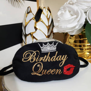 Birthday Queen Mask