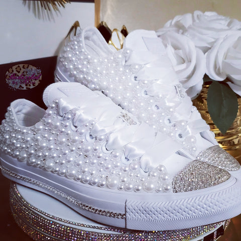 Low Pearl Mix Converse
