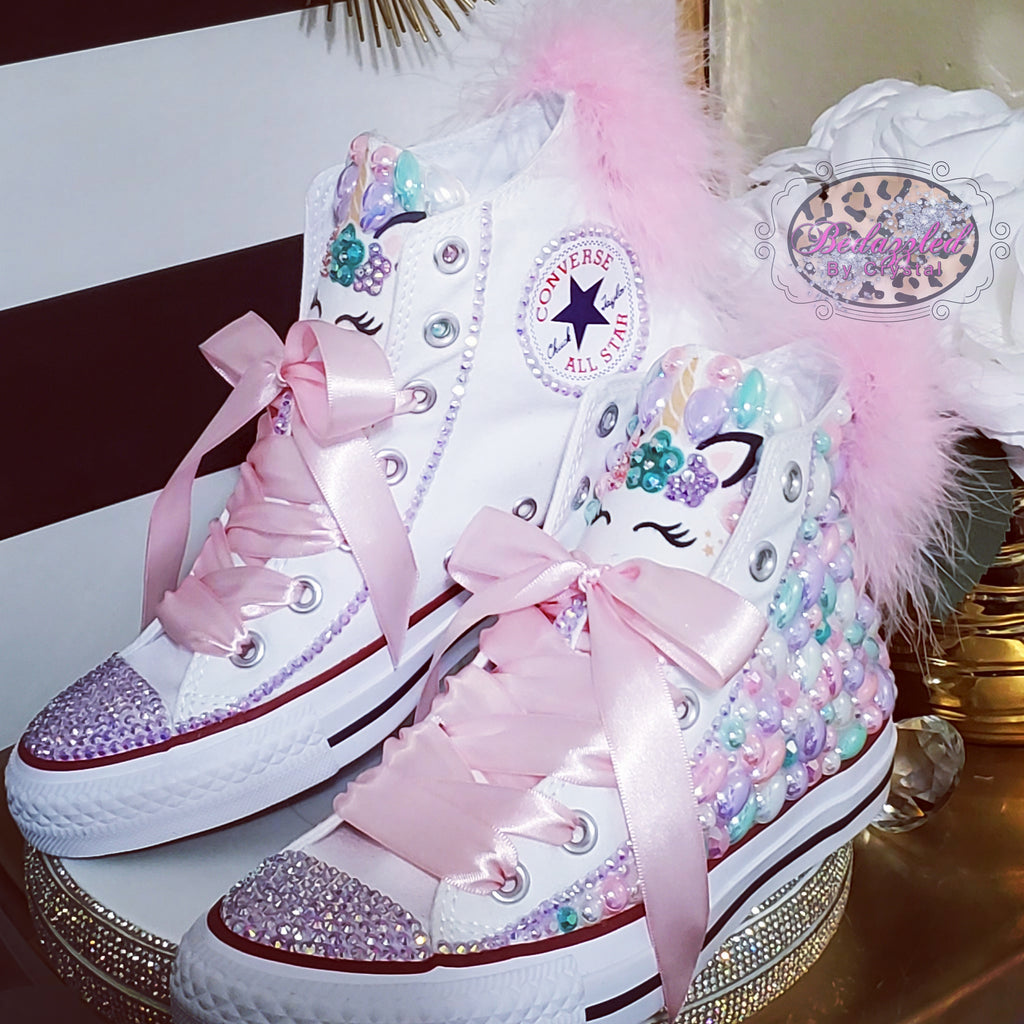 Bedazzled Unicorn Sneakers