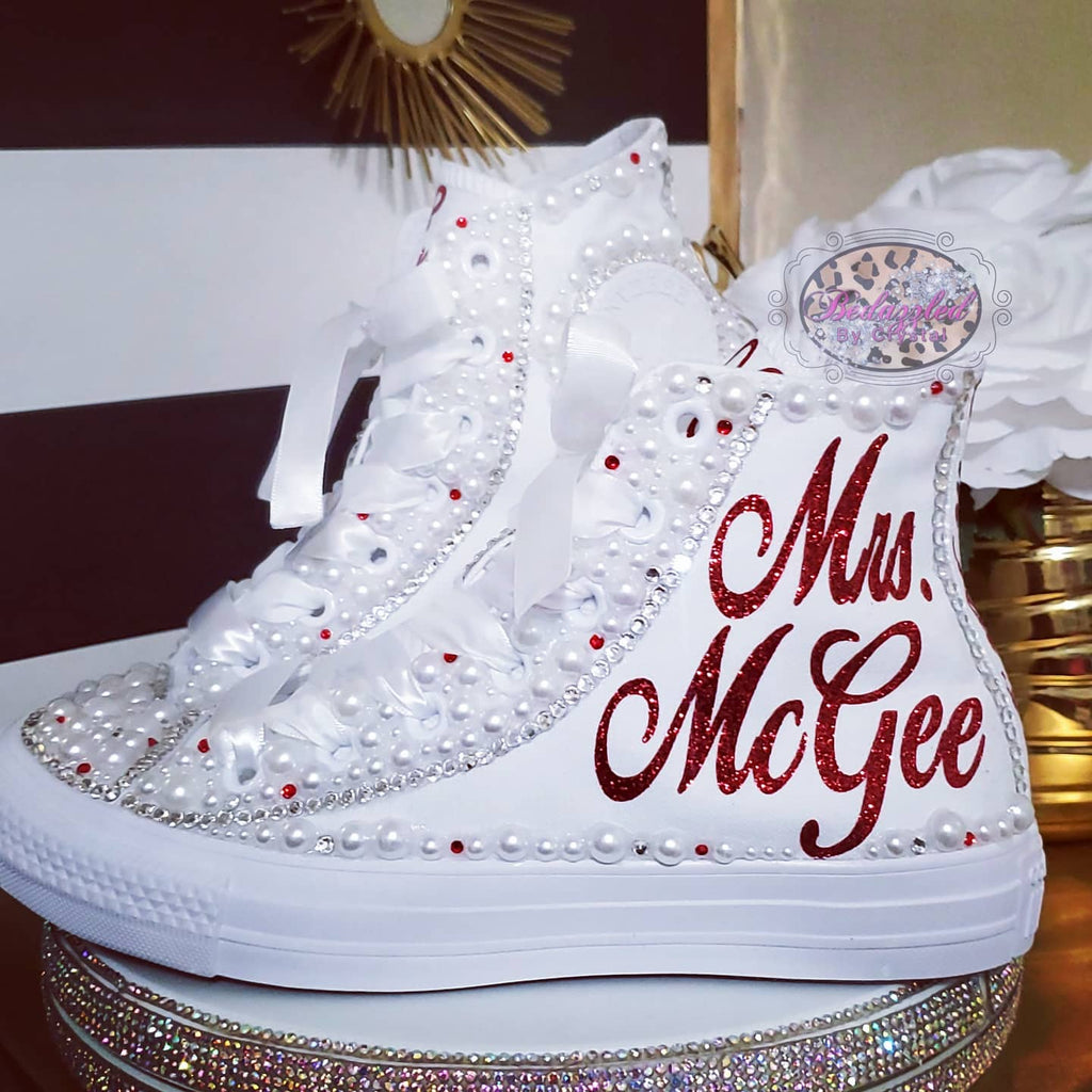 Bride High Top Pearl Converse