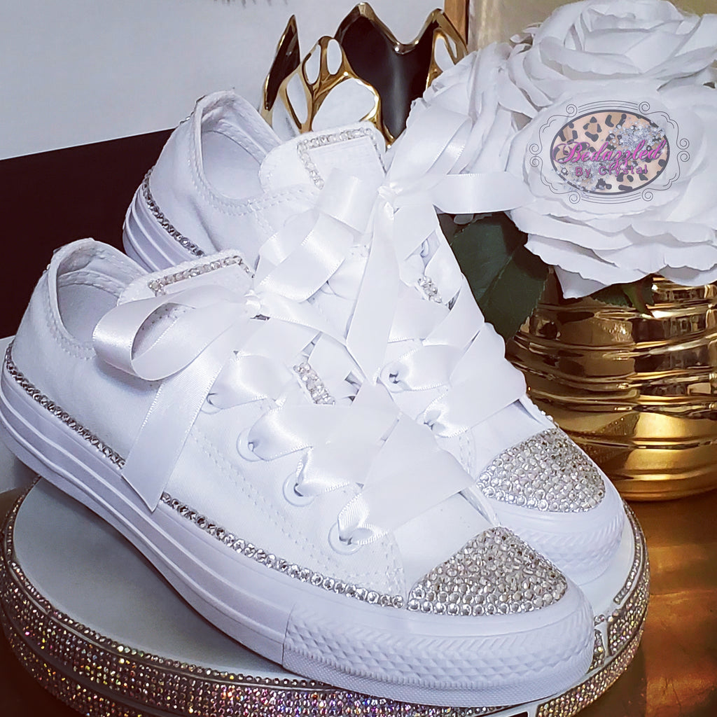 Custom Partial Crystal Converse