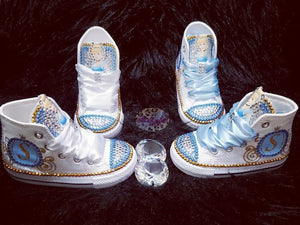 Bedazzled Character/Themed Converse