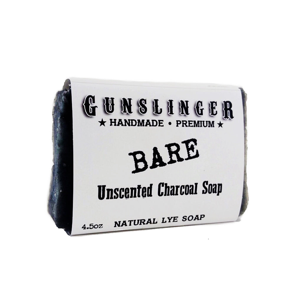 Bare - Unscented Charcoal Soap