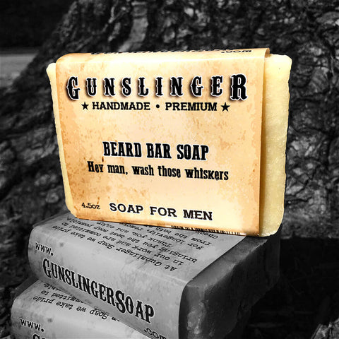 Beard Soap - Beard Care - Pair with Beard Oil