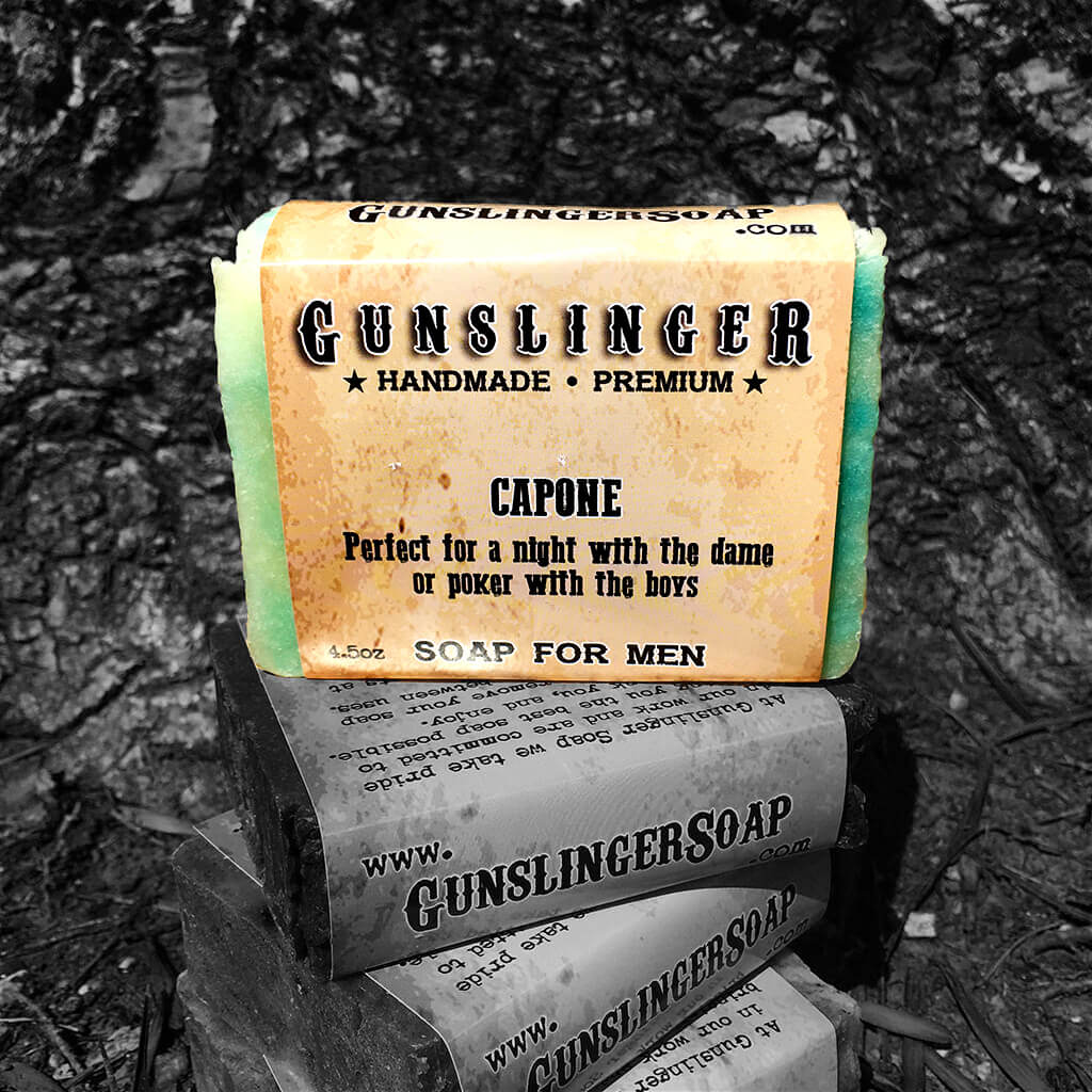 Capone - Best Bar Soap - Handmade Soap for Men