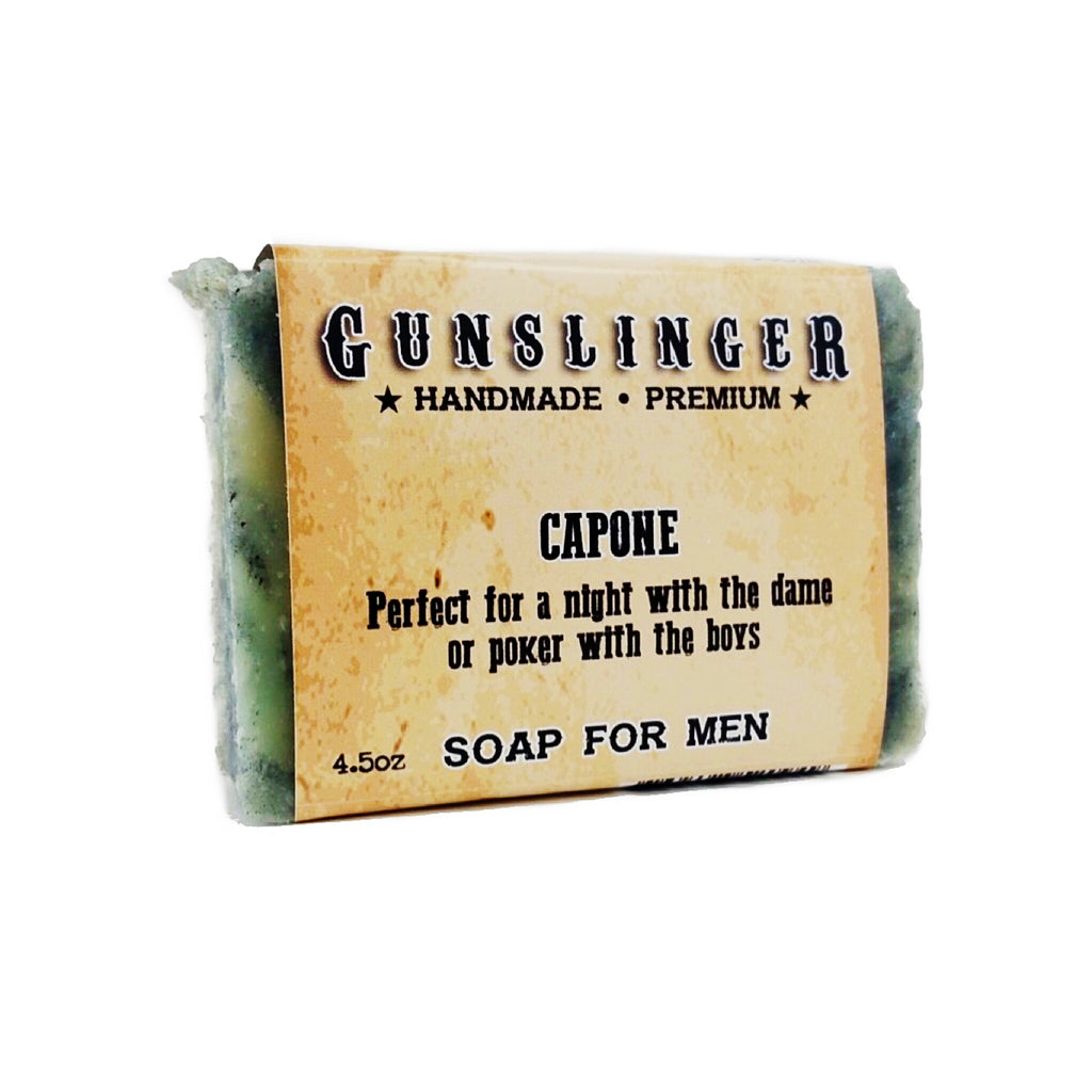 Capone Charcoal Soap