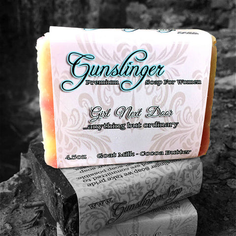 Girl Next Door Activated Charcoal Soap