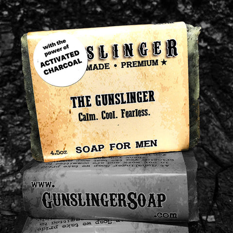 Gunslinger - Activated Charcoal - Best Bar Soap