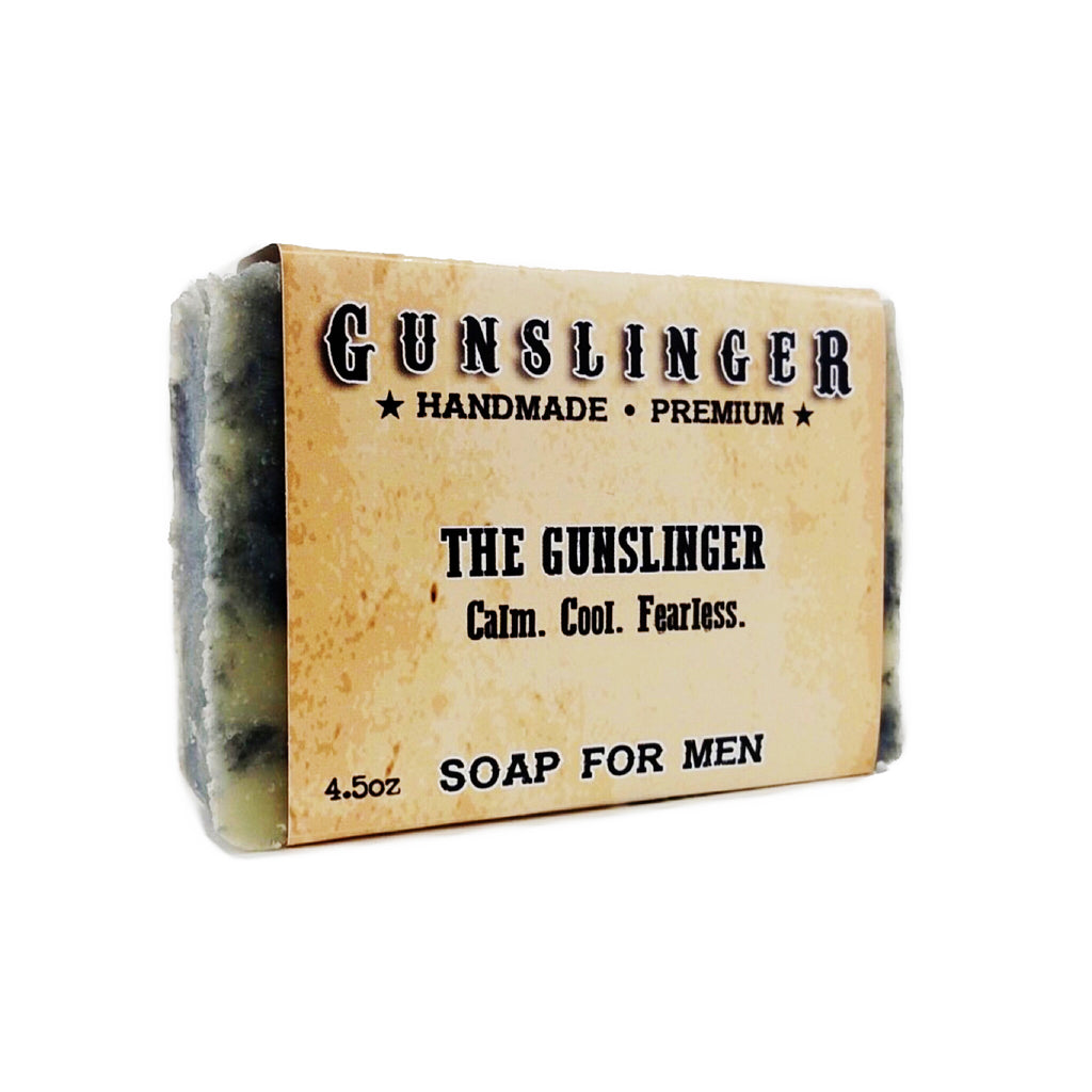Gunslinger Charcoal Soap