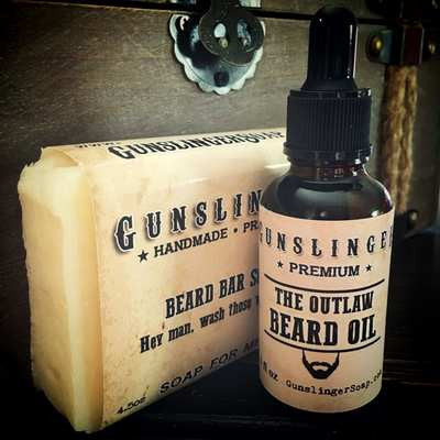 Best Smelling Beard Oil and Beard Bar Soap Combo