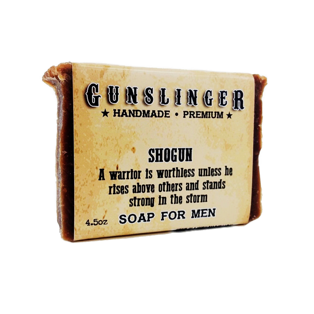 Shogun Charcoal Soap