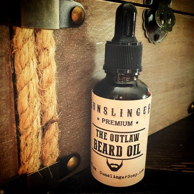 Gunslinger's popular Outlaw Beard Oil