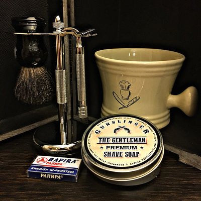 Choose Your Razor! Full Kit - Gunslinger Soap For Men