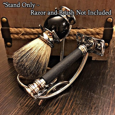 Low Profile Razor and Brush Stand - Gunslinger Soap For Men