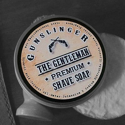 Premium Shave Soap - Gunslinger Soap For Men