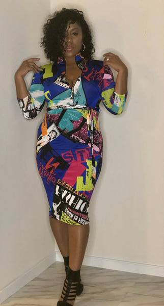 Page Boy Bodycon Dress