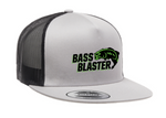 BassBlaster Yupoong Flat Billed Two Tone Trucker Cap