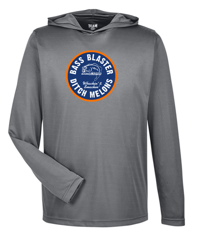 BassBlaster Circle Zone Performance Lightweight Long Sleeve with Hood
