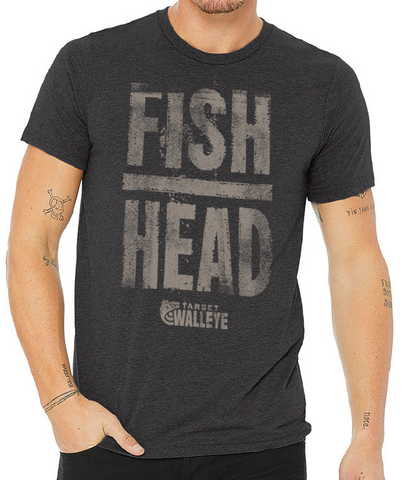 Target Walleye Fish Head Tee