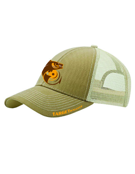 TargetWalleye Fish Trucker Cap