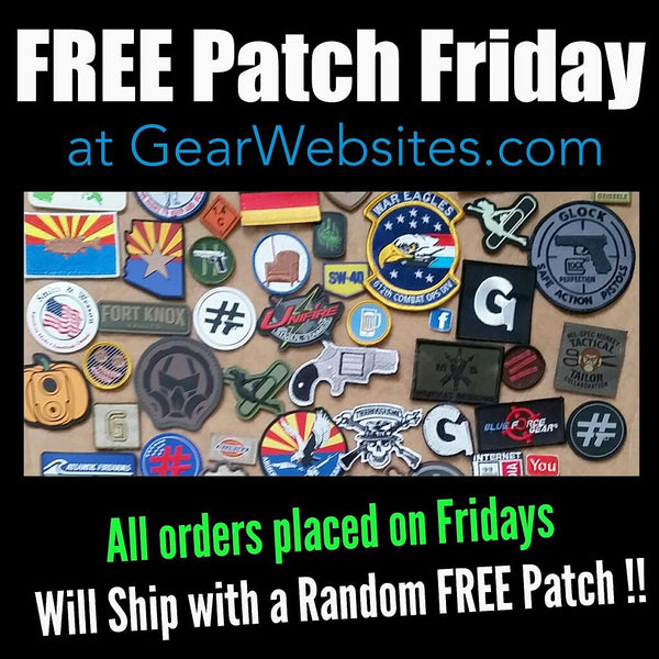 Fridays at our online store @GearWebsites .com