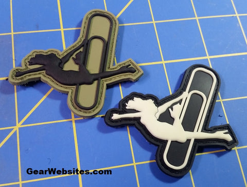 Stripper Clip PVC Patches