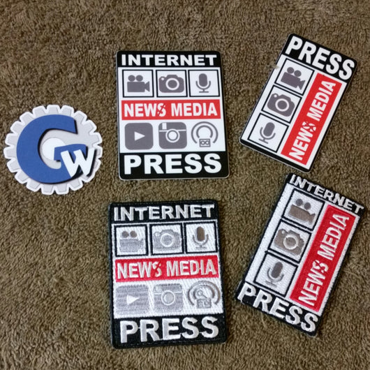"Sold Out - ""New Media"" Sticker Set"