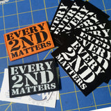 Every 2nd Matters - Biz Card Set x10 Pack