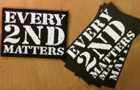 Sold Out - Every 2nd Matters - Second Run (1st Gen) Patch