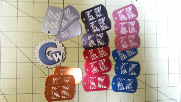 Sold Out - Morse Code Dog Tags