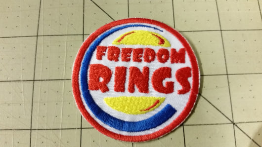 Freedom Rings Patch