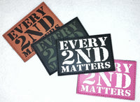 Every 2nd Matters (6th Gen) - PVC Patch