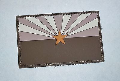 Arizona State Flag PVC Patch