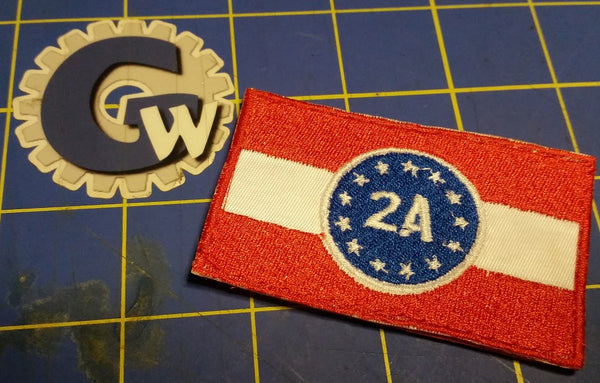 2A Rally 2019 Flag Patch