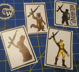 Sold Out - 'Wolverine' Sticker Sets - Made in Tucson, AZ USA