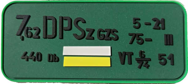 7.62x54R Hungarian Ammo Can PVC Patch