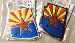 Sold Out - Arizona State Shape Patch (1st Run)