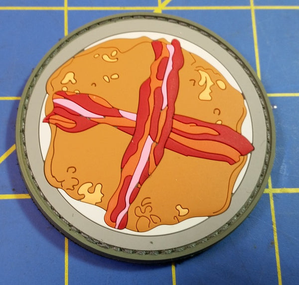 Bacon Pancakes PVC Patch