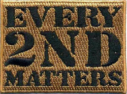 Every 2nd Matters (2nd Gen) – Black & Tan Patch