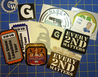 Sold Out - E2M - 4th Gen - Glow in the Dark Patch Packs