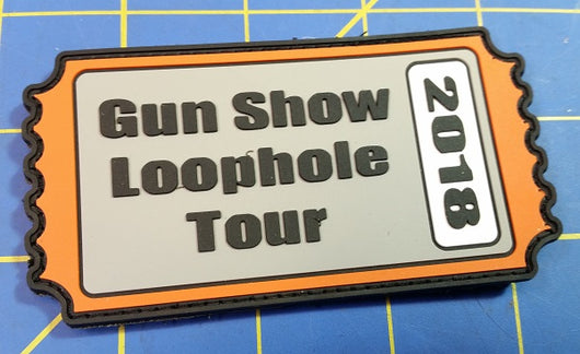 Gun Show Loophole Tour PVC Patch