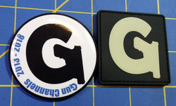 Sold Out - Gun Channels 5th Anny Button & PVC Patch