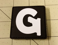 Sold Out - Gun Channels Glowing Logo Patch (5th Gen, PVC)