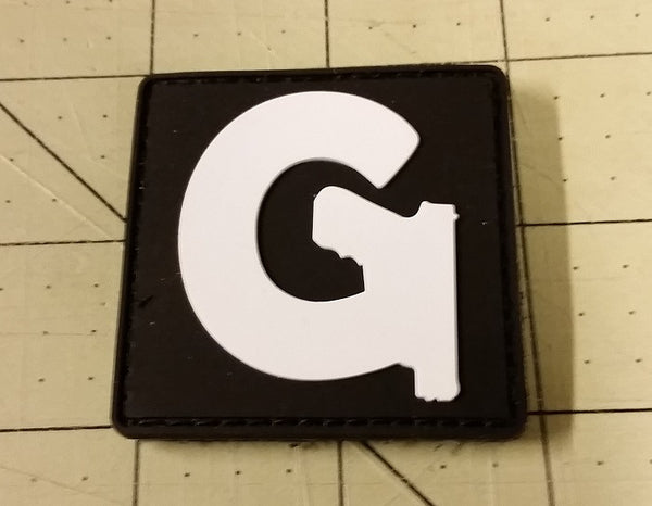Sold Out - Gun Channels Logo Patch (4th Gen, PVC)
