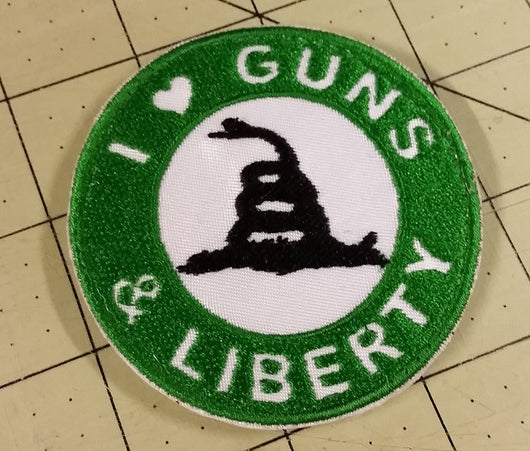 I Love Guns & Liberty Patch