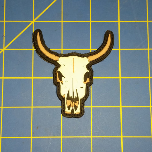 Cow Skull Patch (PVC)