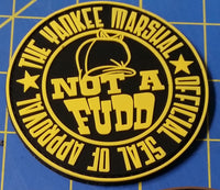 Limited-Run, TYMP Not-a-Fudd Gold Patch