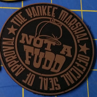 Sold Out - Limited-Run, TYMP Not-a-Fudd Tan Patch