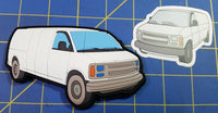 2002 Chevy Van PVC Patch