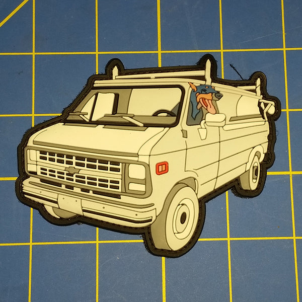 Sold Out - Dog & Van Patch